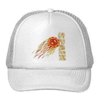 Spain silky fireball España La Furia Roja gifts Trucker Hat
