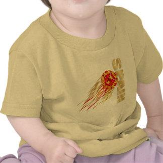 Spain silky fireball España La Furia Roja gifts Shirt