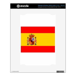 Spain Skin For The NOOK
