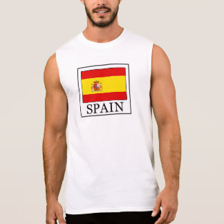 Spain Sleeveless Shirt