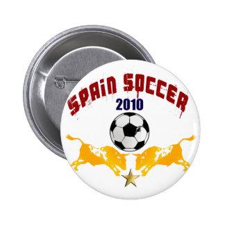 Spain Soccer 2010 La Furia Bull Toro Gift 2 Inch Round Button