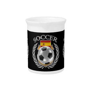 Spain Soccer 2016 Fan Gear Beverage Pitcher