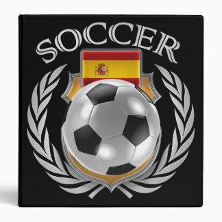Spain Soccer 2016 Fan Gear Binder