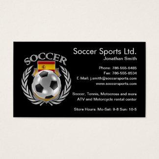 Spain Soccer 2016 Fan Gear Business Card