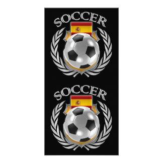 Spain Soccer 2016 Fan Gear Card