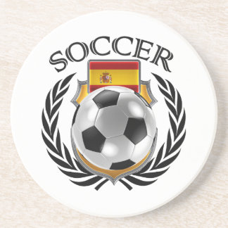 Spain Soccer 2016 Fan Gear Coaster