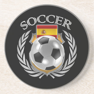Spain Soccer 2016 Fan Gear Drink Coaster