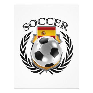 Spain Soccer 2016 Fan Gear Flyer
