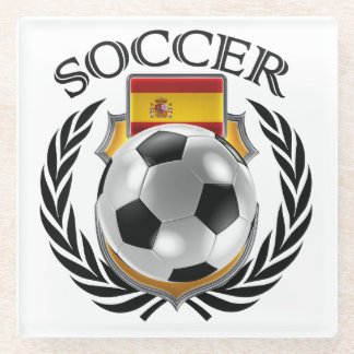 Spain Soccer 2016 Fan Gear Glass Coaster