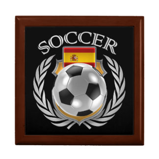 Spain Soccer 2016 Fan Gear Keepsake Box