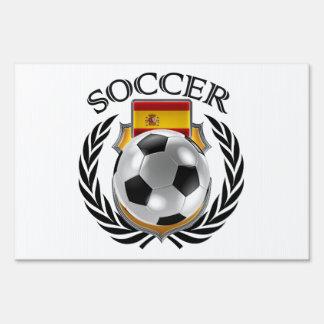Spain Soccer 2016 Fan Gear Lawn Sign