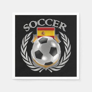 Spain Soccer 2016 Fan Gear Napkin