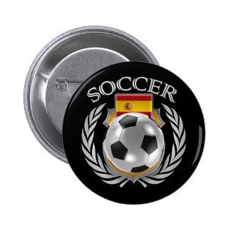 Spain Soccer 2016 Fan Gear Pinback Button