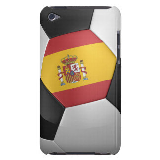 Spain Soccer Ball Barely There iPod Case
