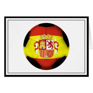 Spain Soccer Ball Cards