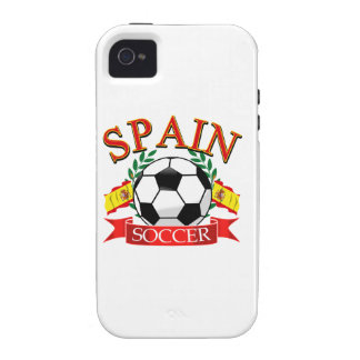Spain soccer ball designs iPhone 4 case