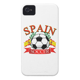 Spain soccer ball designs iPhone 4 cases