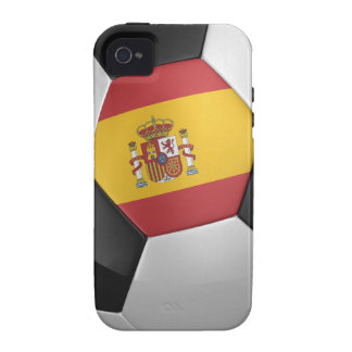 Spain Soccer Ball iPhone 4/4S Cases