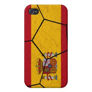 Spain Soccer Ball iPhone 4 Case