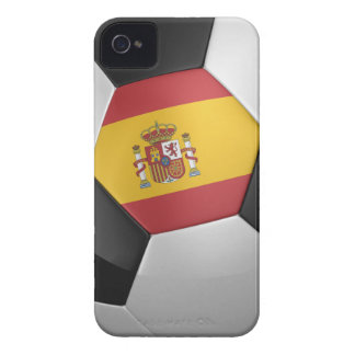 Spain Soccer Ball iPhone 4 Case-Mate Cases