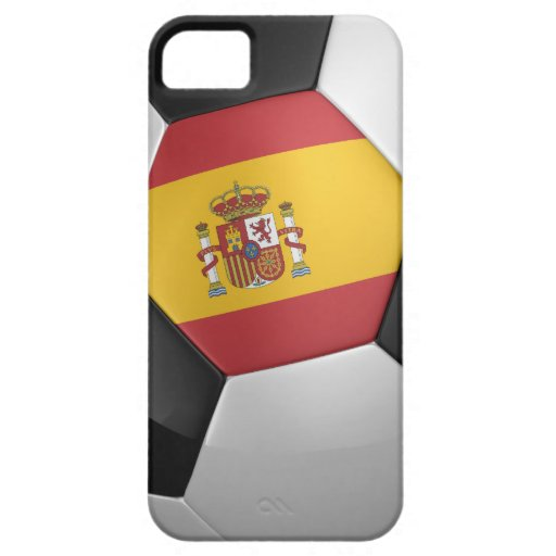 Spain Soccer Ball iPhone 5 Cover