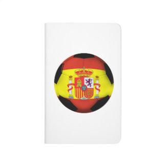 Spain Soccer Ball Journals