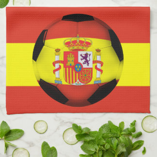 Spain Soccer Ball Towels