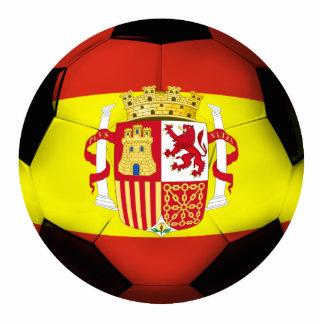 Spain Soccer Ball Statuette