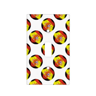 Spain Soccer Ball Switch Plate Cover
