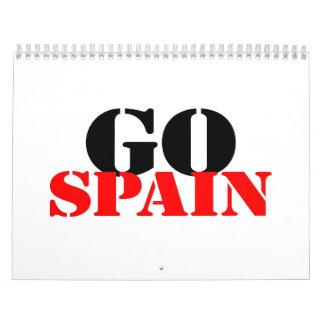 Spain Soccer Calendars