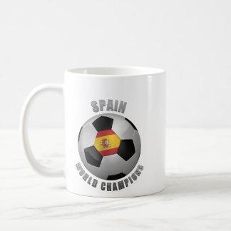SPAIN SOCCER CHAMPIONS COFFEE MUG