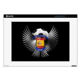 Spain Soccer Champions Decal For Laptop