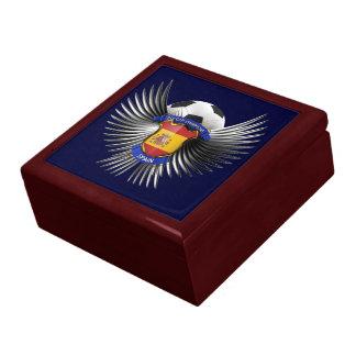 Spain Soccer Champions Trinket Box