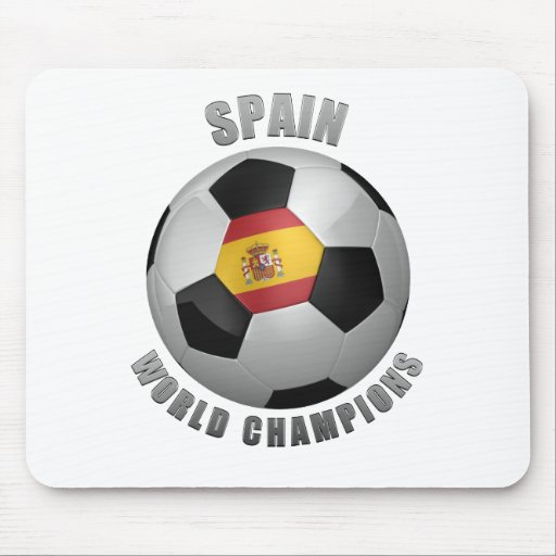 SPAIN SOCCER CHAMPIONS MOUSE PADS