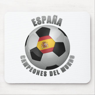 SPAIN SOCCER CHAMPIONS MOUSE PAD