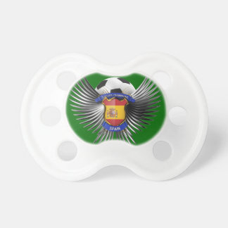 Spain Soccer Champions Pacifiers