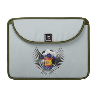 Spain Soccer Champions Sleeve For MacBook Pro