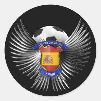 Spain Soccer Champions Sticker