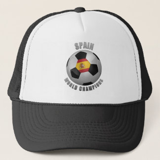 SPAIN SOCCER CHAMPIONS TRUCKER HAT