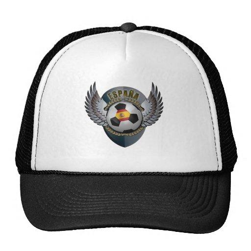 Spain Soccer Crest Hats