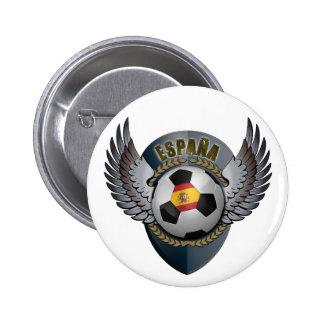 Spain Soccer Crest Pins