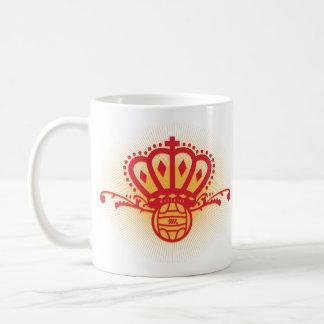 Spain Soccer Crown - White Mug
