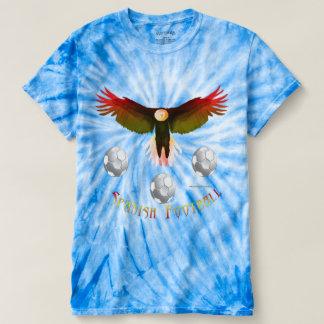 Spain Soccer Eagle Men's Tie-Dye T-Shirt