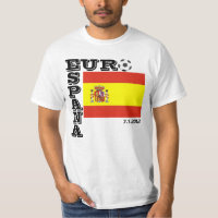 Spain Soccer Europe Champs T-Shirt