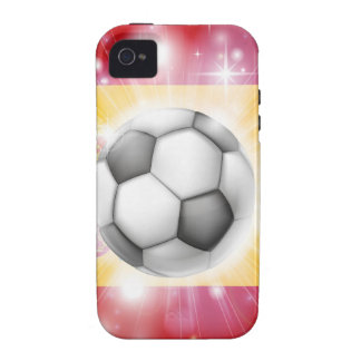 Spain soccer flag iPhone 4 cover