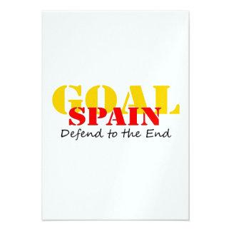 Spain Soccer Invite