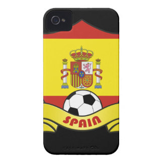 Spain Soccer iPhone 4/4S Case-Mate Barely There iPhone 4 Covers