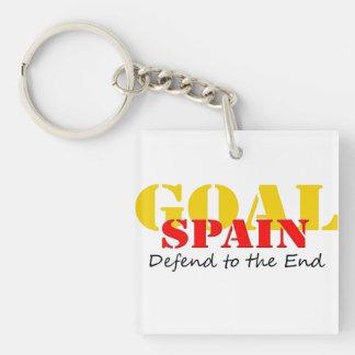 Spain Soccer Keychain