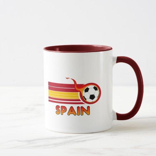 Spain Soccer Mug