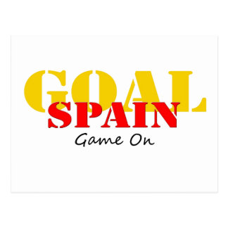 Spain Soccer Postcard